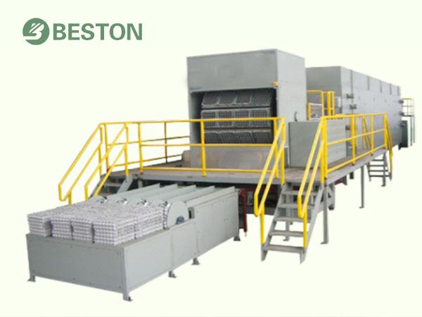Beston pulp molding production line/egg tray/egg carton/shoe tray