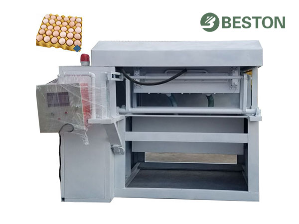 Nice appearance/High stability small egg tray machine from Beston