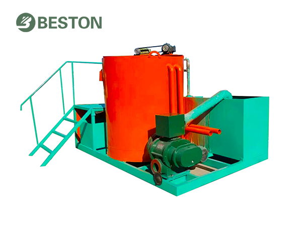 Integrated pulping system for small egg tray machine Beston