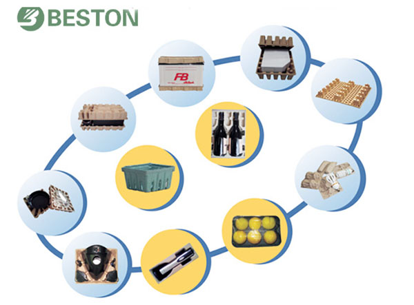 Various cheap pulp molding production line Beston