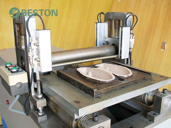 Shoe tray making machine from Beston egg tray mold