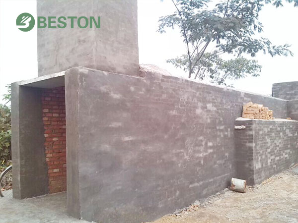 Brick drying line Beston for large and medium egg tray machine