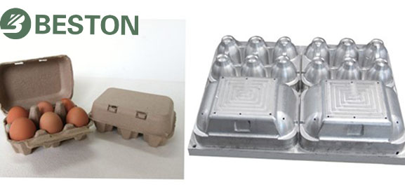 egg carton making machine from Beston