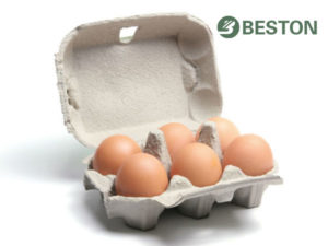End products for egg carton making machine