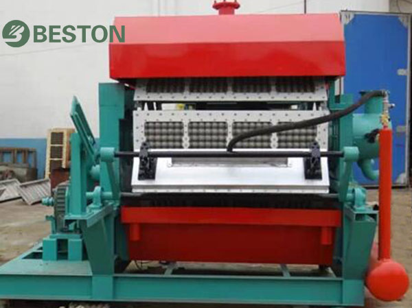 High production egg tray machine from Beston