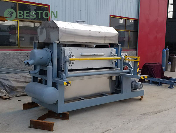 Good performance pulp molding machine from Beston