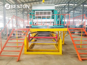 automatic egg tray machine for sale from Beston