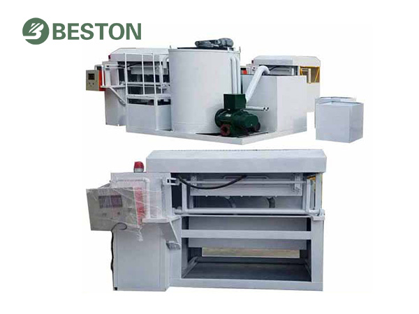 Integrated pulping system for small-scale egg tray making machine Beston