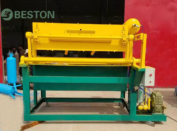 Small egg tray machine for sale from Beston Manchinery