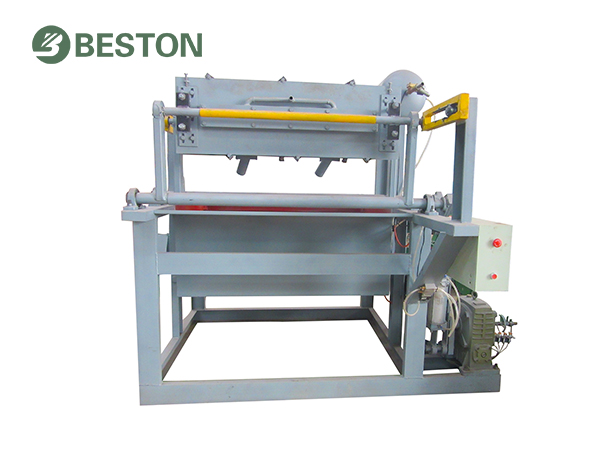Easy to operate/cost-effective/Beston small egg tray machine
