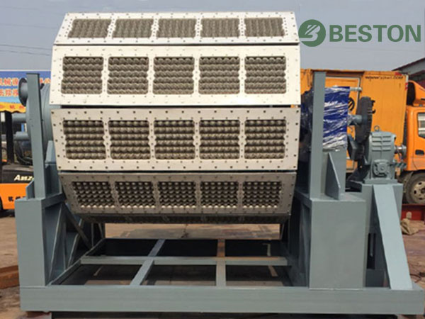 High output pulp molding machine from Beston