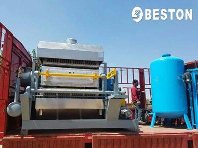 BTF-4-8 Egg Tray Machine for Honduras Customer