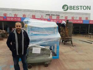 Algeria Customer Visited Beston Machinery
