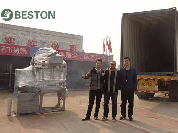 Egg Tray Making Machine to Algeria from Beston