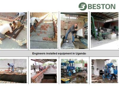 Brick Drying Room From Uganda Clients