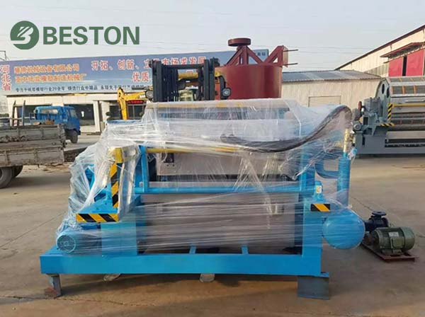 Beston Exporting Egg Tray Machine to India