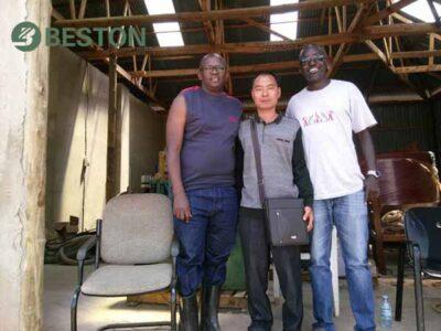 Beston Engineer Installing in South Africa