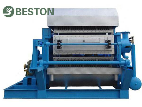 Low Cost of Egg Tray Making Machine from Beston