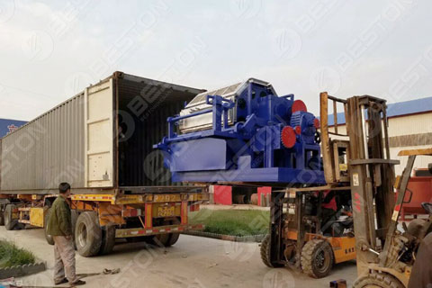 BTF4-8 Paper Egg Tray Equipment Delivered to the Philippines