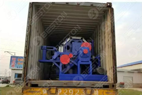 BTF4-8 Paper Egg Tray Forming Machine Shipped to the Philippines