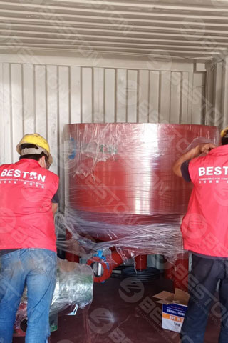 Pulping Machine Shipped to the Philippines