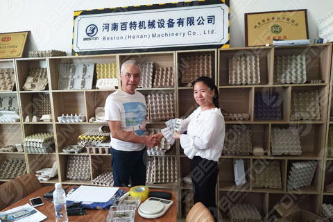 The Philippines Customers Reached the Cooperation with Beston