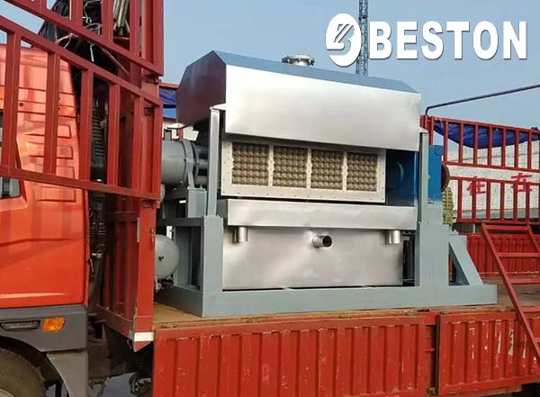 BTF-4-4 Paper Egg Tray Making Machine for Uganda Clients