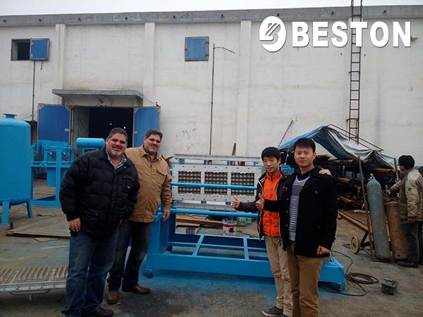 Manual Egg Tray Machine for Mexican Customer