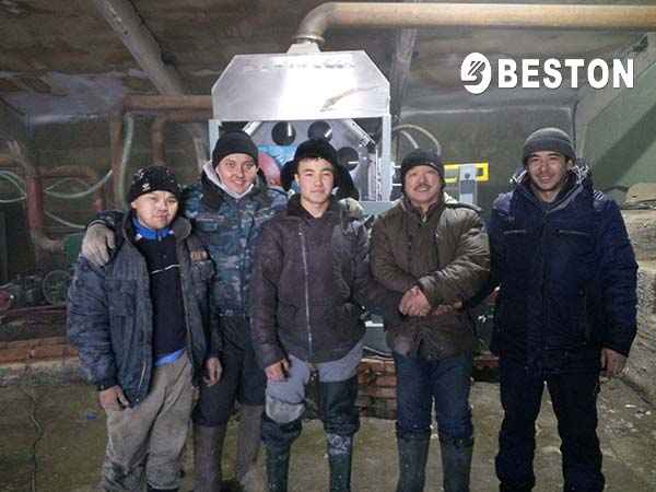 Beston Engineers In Kazakhstan