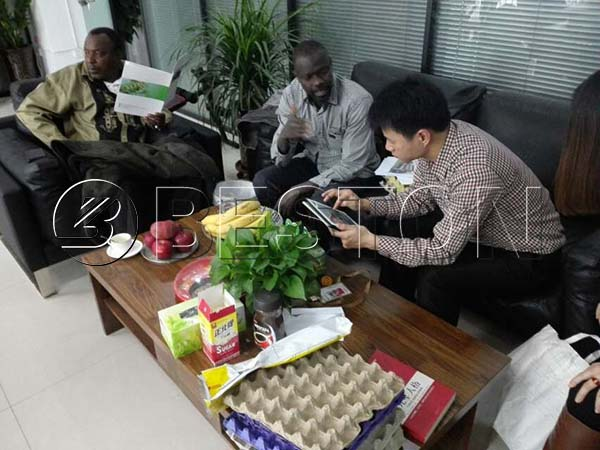 Senegal Customers With Beston Sales Manager