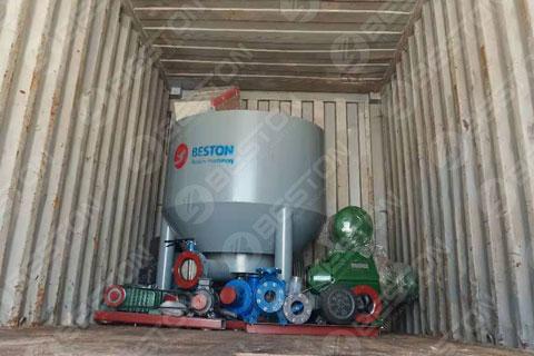 Pulping Machine Shipped to Mali