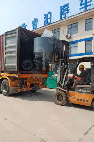 Pulping Making Machine Delivered to Mali