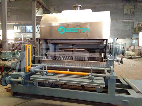 Egg Tray Making Machine to Hungary