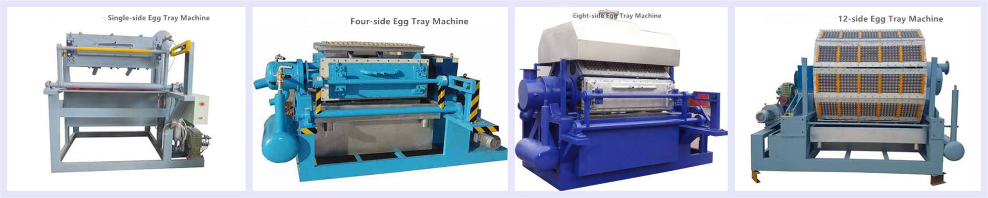 Various Pulp Moulding Machines