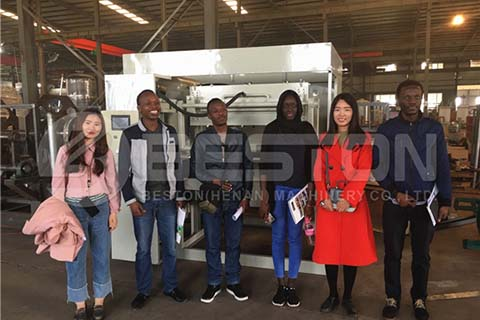 Customers from Mali Visit Beston Factory