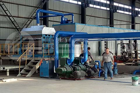 Dryer for Seedling Tray Machine
