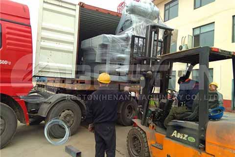 Shipping Egg Tray Machine to Sudan
