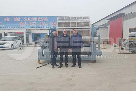 Paper Egg Tray Machine to Russia