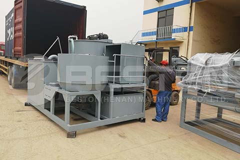 Integrated Pulping System to Algeria