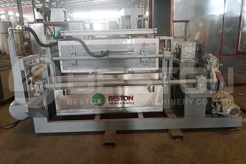 BTF-4-4 Egg Tray Machine to Bolivia