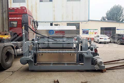 BTF-4-4 Egg Tray Machine to Indonesia