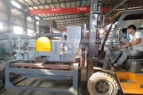 Egg Tray Machine to Russia