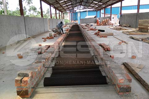 Brick Egg Tray Drying Line