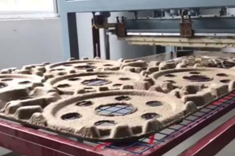 Wheel Hub Tray