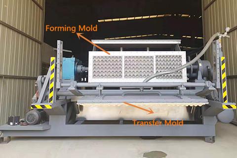 Apple Tray Making Machine Design