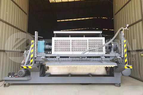 Apple Tray Making Machine to Brazil