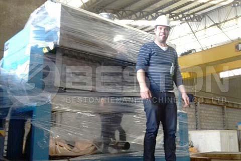 Apple Tray Making Machine Brazil