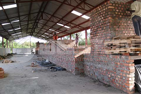 Brick Egg Tray Drying Line