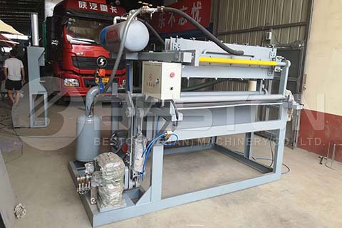 Egg Tray Machine to Colombia