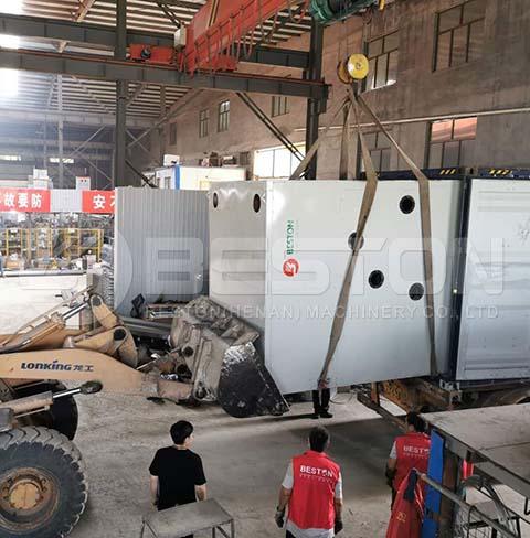 Egg Tray Metal Dryer to Armenia